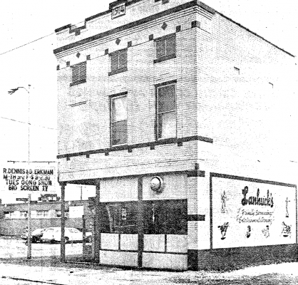 Lanhuck's shortly after opening 1983