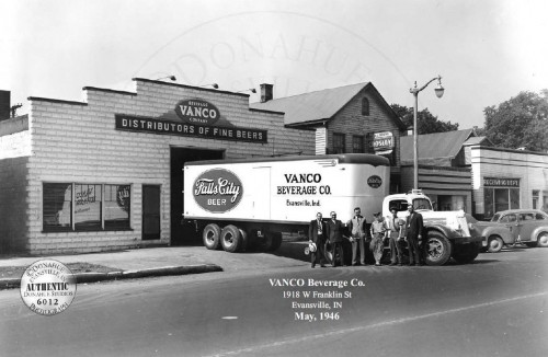 Vanco Beverage 1946 (courtesy of Donahue Collection)