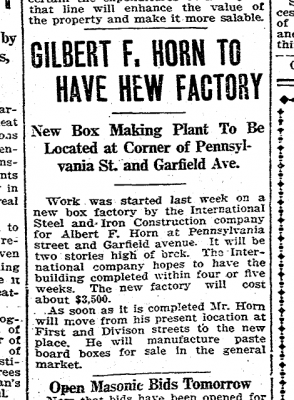 Article from Sept 22, 1912 Courier