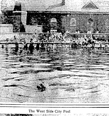 West Side City Pool 1919