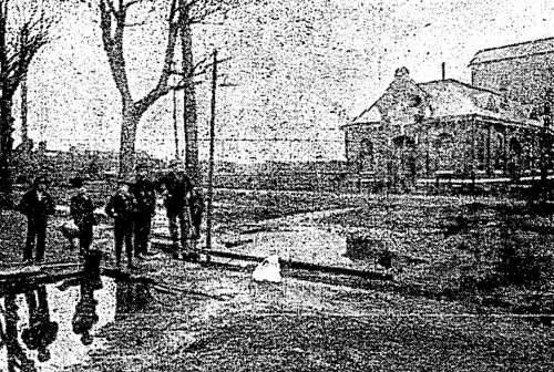 Gentlemen near the West  Side Pumping Station 1908