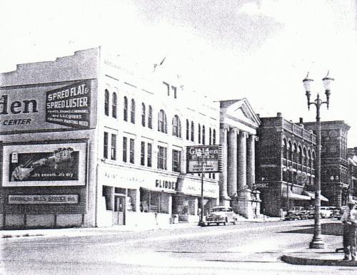 Main St from Riverside c1950 (before remodeling)