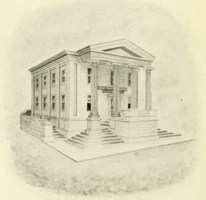 Sketch of the Old State National Bank