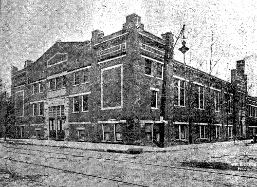 Turner Hall 1914 shortly after it was completed