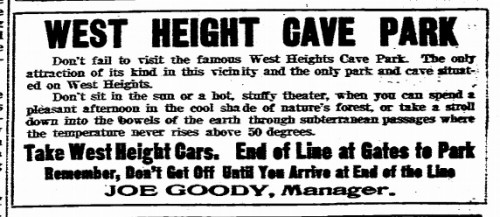 Ad from 1903