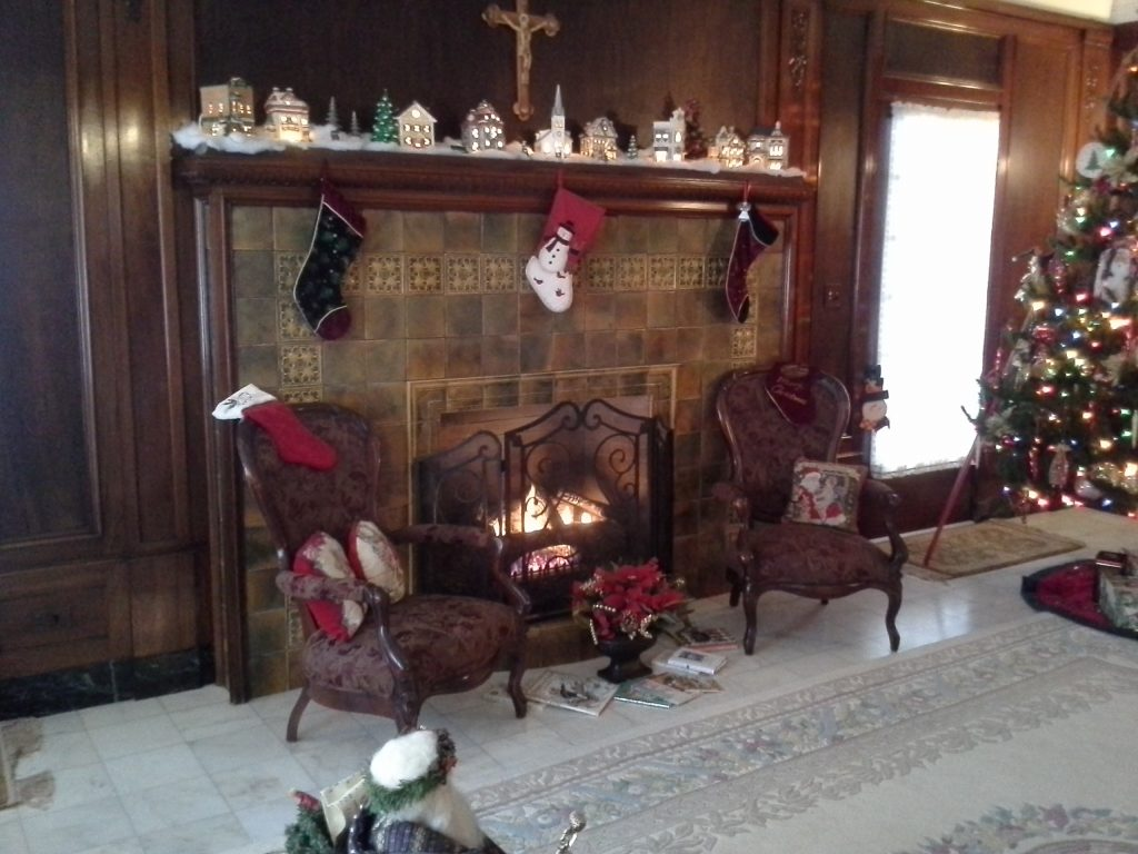 Fireplace from 2013 Riverside Tour