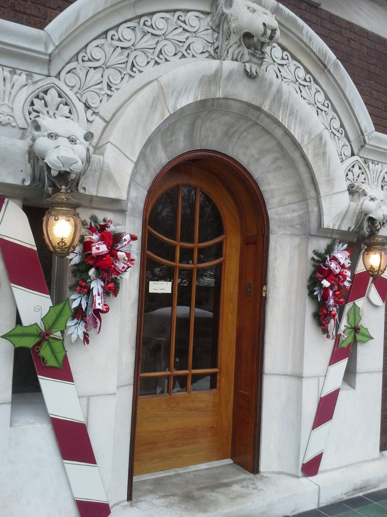 Front door from 2013 Riverside Tour